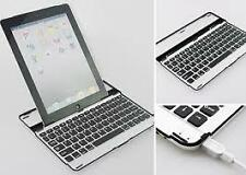New Generation Built In Bluetooth Aluminum Keyboard Case For Apple ipad 2 3 4