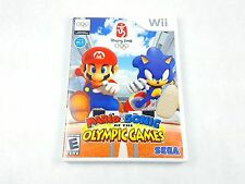 Mario & Sonic at the Olympic Games Nintendo Wii 2007