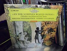 Herbert Von Karajan Berliner Philharmoniker Japan Import LP DGG EX [Red Tulip]