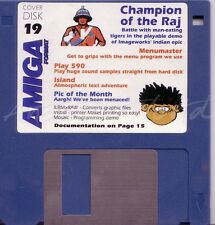 Amiga Format - Magazine Coverdisk 19 - Champion of the Raj