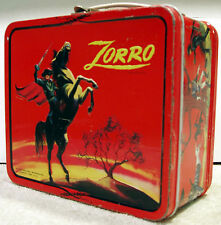 Walt Disney's Zorro Lunch Box © 1966 Aladdin