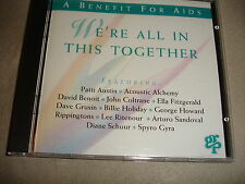 A Benefit For Aids We're All In This Together CD Jazz Patti Austin Dave Grusin