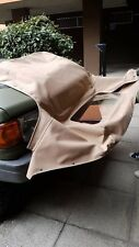 Mazda Mx5 Mk2 Mk2.5 Mohair Soft Top Roof In Tan Colour