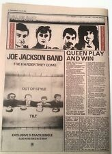 QUEEN Play The Game album review 1980 UK ARTICLE / clipping