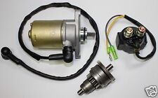 GY6 49 47 50CC SCOOTER MOPED STARTER MOTOR, STARTER CLUTCH AND RELAY SET. SUNL