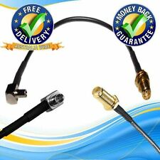 15cm Pigtail Cable Assembly SMA FEMALE to TS9 MALE RA RG174 5.9in RF 3G 4G WiFi