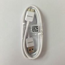 New Original Samsung Galaxy Note 3 S5 USB 3.0 Data Sync Cable Charger white
