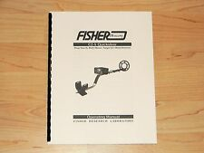 Fisher CZ-5 Quicksilver Metal Detector Operating Manual  - #MD9