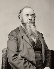 Edwin M. Stanton by Mathew Brady, Civil War photo c1862, Attorney General CHOICE