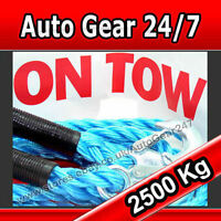 3.5m 2.5 Ton 2500kg Towing Heavy Duty Pull Car Towing  Road Recovery Tow Rope