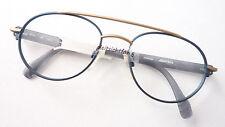 Fassung Brillengestell Marken Brille Adidas sportlich blau Metall Pilot frame M