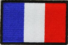 FRANCE - FLAG - IRON or SEW-ON PATCH