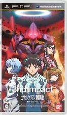 Used PSP Evangelion Shin Gekijoban: 3nd Impact Japan Import