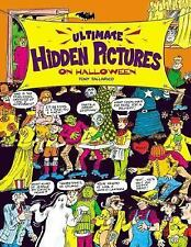 Halloween Ultimate Hidden Pictures kids puzzle book Search Find Tony Tallarico