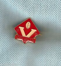 #D174.  1976  NORTH ADELAIDE  SANFL FOOTBALL CLUB MEMBER'S LAPEL  BADGE