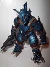 Halo 3 Series 6 **BRUTE BODYGUARD** Action Figure 100% Complete w/ Weapons!!!