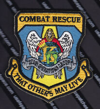 USAF COMBAT RESCUE - THAT OTHERS MAY LIVE - PJ'S CSAR USAF SAR AIR FORCE PATCH