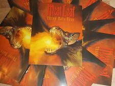 MEAT LOAF THREE BATTS TOUR PROGRAMME 2007