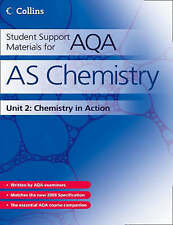 Student Support Materials for AQA - AS Chemistry Unit 2: Chemistry in Action: C