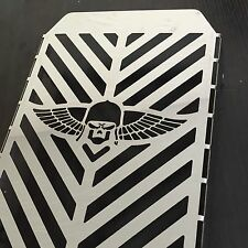 Radiator Grille Cover Guard Protector For Kawasaki Vulcan VN 1500 Skull Wing