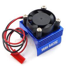Yeah Racing Aluminum 380 Motor Heat Sink Cooling Fan Blue 1:10 RC Car #YA-0461BU