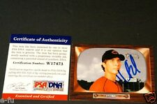 2004 Bowman Heritage HOMER BAILEY Blue Autograph PSA/DNA Certified Genuine Auto