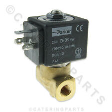 SPARE PARTS PARKER COFFEE MACHINE TWO WAY WATER SOLENOID VALVE 220-230 Volt ZB09