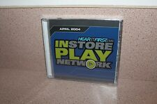 Instore Play network Hear it first.com NEW & SEALED CD April 2004 Orrico/Avalon