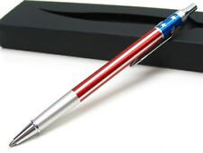 FISHER SPACE PEN Red White Blue USA AMERICAN FLAG Pen w/ Pocket Clip! AFP5