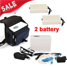 Home Portable Oxygen Concentrator Generator Machine Health Care with 2 Batteries