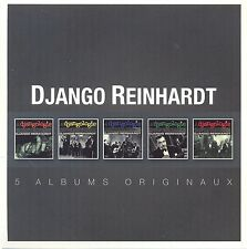 DJANGO REINHARDT - ORIGINAL ALBUM SERIES 5 CD NEU