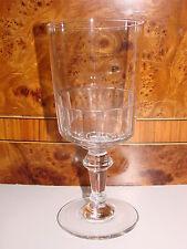ANCIEN VERRE A PIED EN VERRE / EAU VIN  GLASS (n°3)
