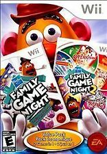 HASBRO FAMILY GAME NIGHT VALUE PACK  Nintendo Wii Game Family Game Night 1 & 2
