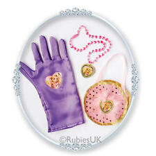 Official Rubies Childrens Rapunzel Bag & Glove Set Disney Princess Fancy Dress
