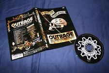OUTRAGE The Curtain of History: 20th Anniversary DVD 2007 Testament Metallica
