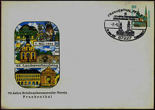 West Germany 1994, 70 Years Philatelist Club Frankenthal Pre-Paid Cover #C36559