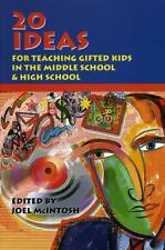 20 Ideas For Teaching Gifted Kids in the Middle School & High School-ExLibrary