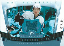 (HCW) 2006-07 Hot Prospects Materials Red Hot MARC-EDOUARD VLASIC 7/100 - 01702