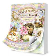 Hunkydory-il piccolo libro della foresta Patchwork-ARTIGIANATO