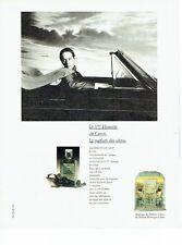 Publicité Advertising 037  1986  parfum  des ultras 3° homme de Caron
