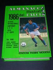 Panini, Almanacco Illustrato del Calcio 1986 OTTIMO!