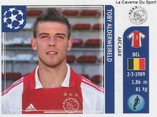 N°246 TOBY ALDERWEIRELD # BELGIQUE AFC.AJAX STICKER CHAMPIONS LEAGUE 2012