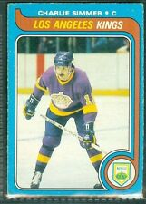 Charlie Simmer RC 1979-80 O Pee Chee OPC '79 Rookie Card #191 EX L.A. LA Kings