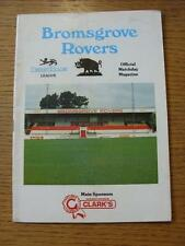 21/11/1989 Bromsgrove Rovers v Witney Town [Westgate Cup] (Crease)