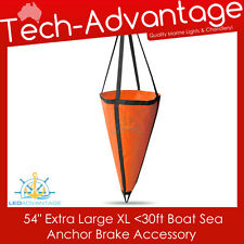 """EXTRA LARGE XL 54"""" BOAT SEA ANCHOR BRAKE DROGUE - SUIT 30FT/9M - 1.35M X 1.42M"""