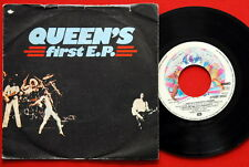 "QUEEN QUEEN'S FIRST EP 1977 RARE EXYU 7""PS EP N/MINT"