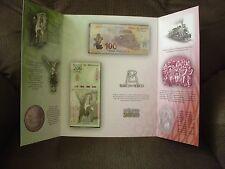 Mexico 100 and 200 pesos album  Independencia and Revolucion Mexicana