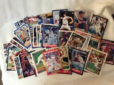 Lot of 55 different Boston Red Sox Cards