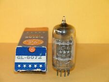 GE GL-6072 3 Mica Black Plates Vacuum Tube 1953 Very Strong Balanced 1750|1720