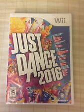 Just Dance 2016 (Nintendo Wii, 2015) NEW FACTORY SEALED FREE SHIPPING